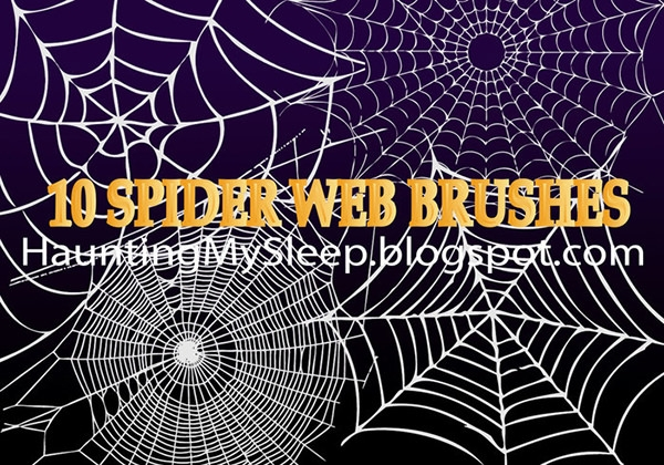 Spider-web-brushes
