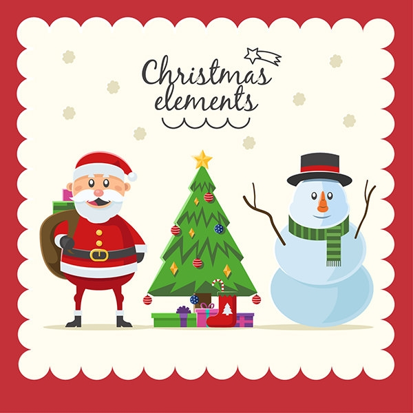 Useful Christmas Elements Collections