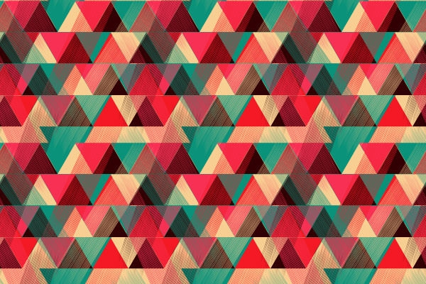 Vibrant-Triangle-Pattern