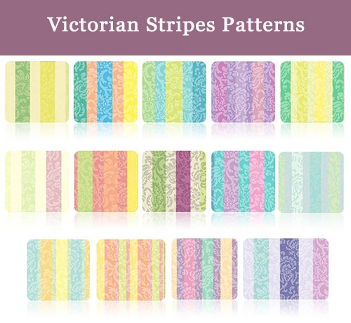 Victorian Stripes Patterns