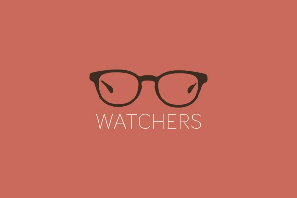 watchers logo design