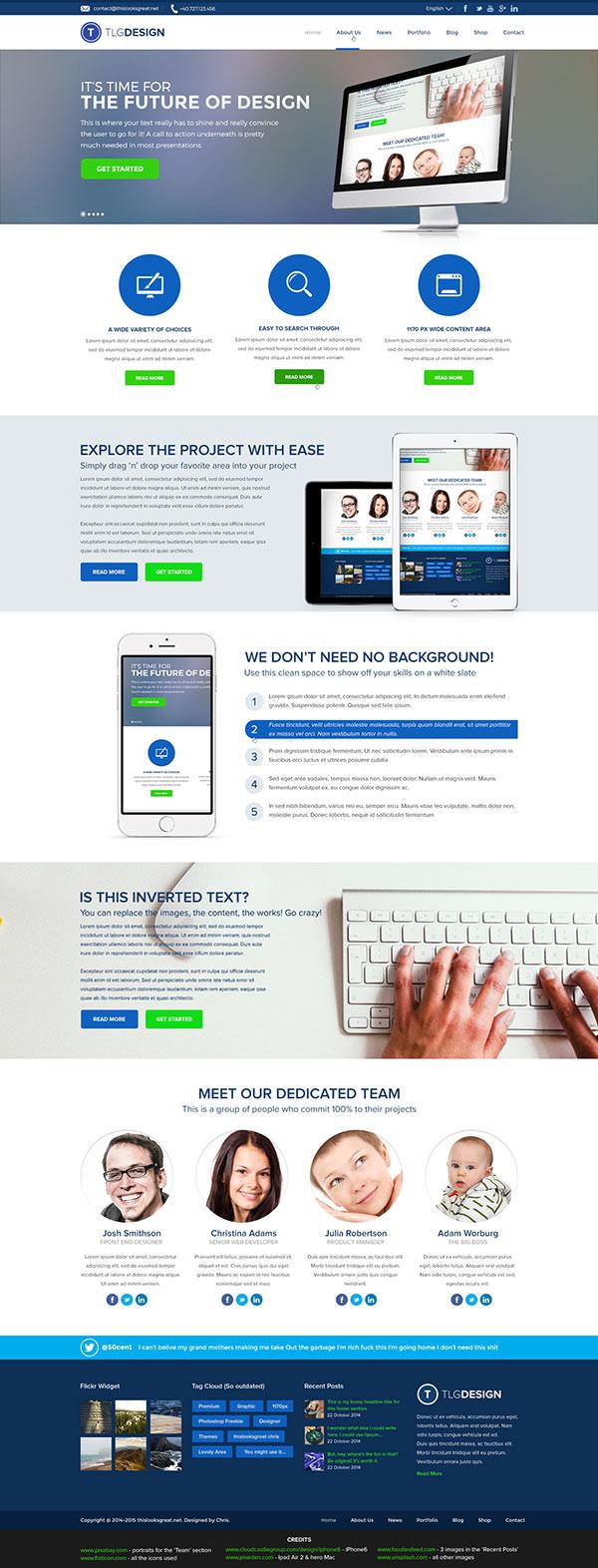 agency-portfolio-template