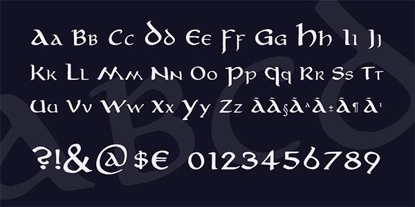 aniron-font