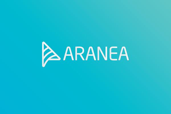 aranea logo design