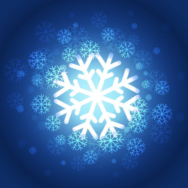beautiful-snowflakes-background