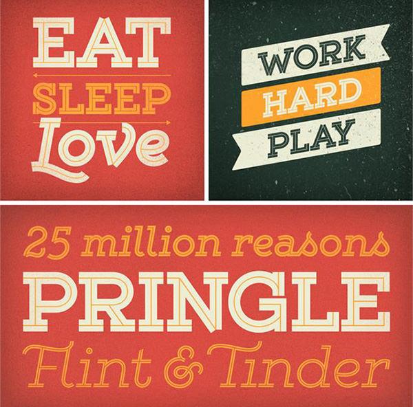 best inline font