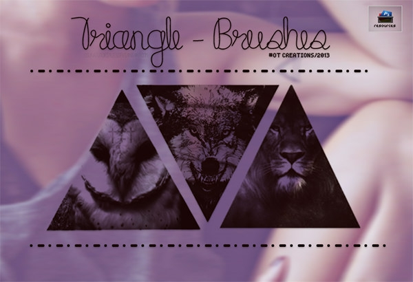 best-photoshop-triangle_brushes