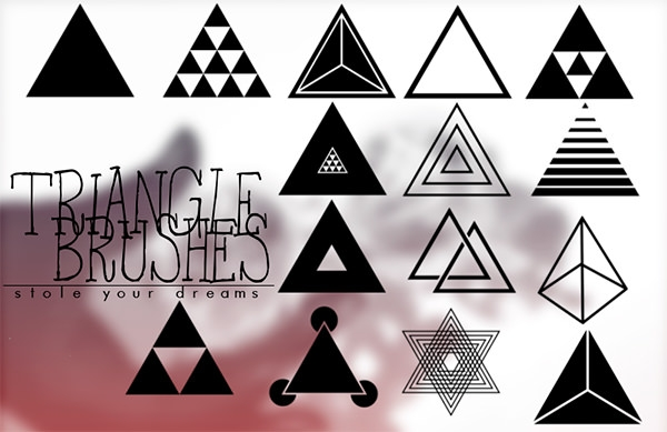 best-triangle-photoshop-brushes