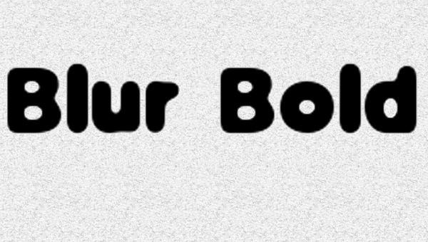blur-bold