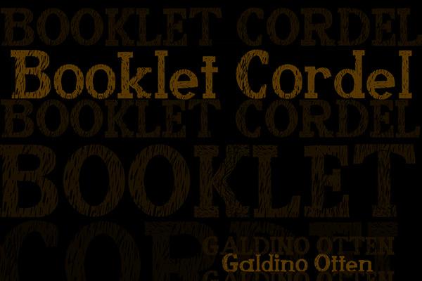 booklet_cordel font