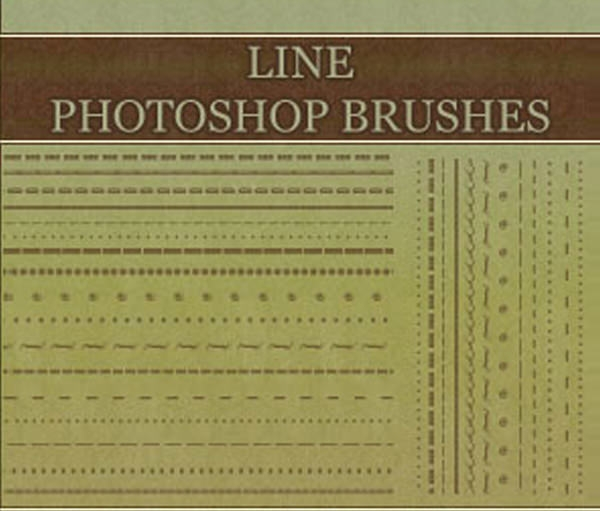 border_line_brushes