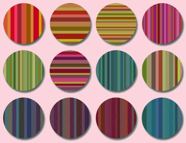 bourbon_stripes photoshop_pattern_set
