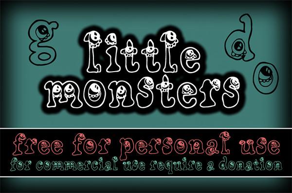 cf-Little-monsters-font