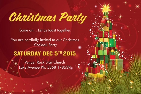 29+ PSD Christmas Invitation Card Designs PSD Word AI