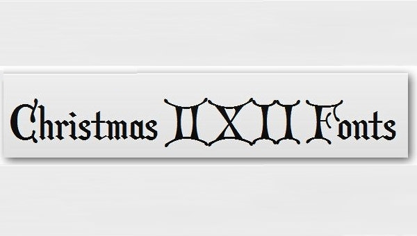 christmas card font - Christmas Fonts Free