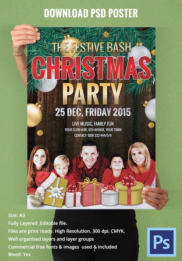 christmas-eve-party-poster-design