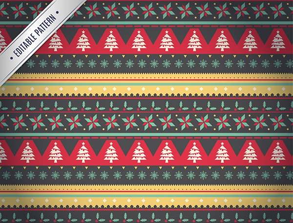 christmas-geometric-patterns