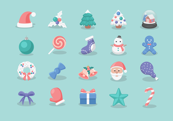 christmas_icons set