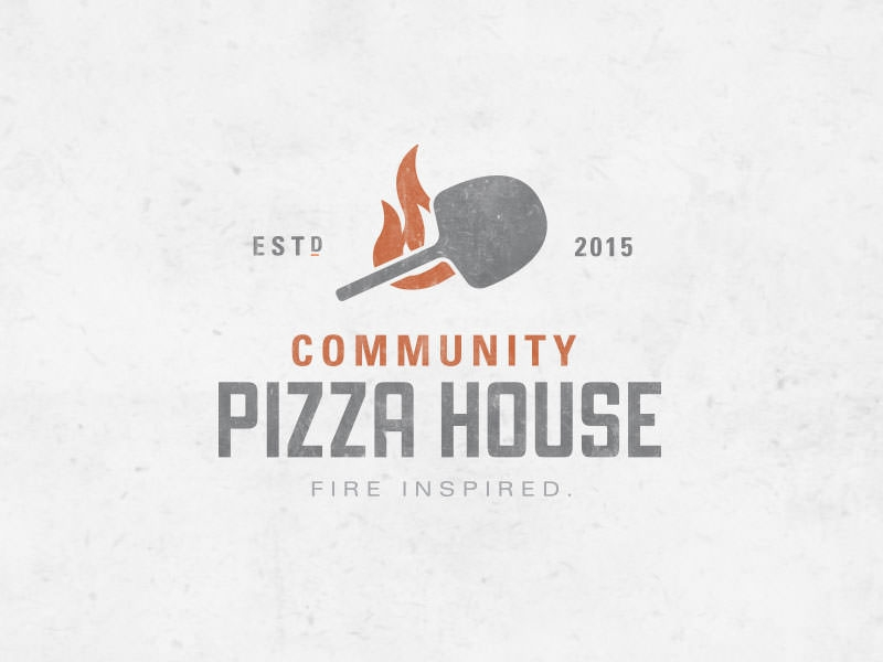 community pizza house logo