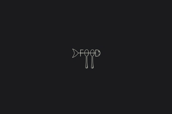 creative food logo design
