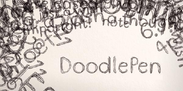 doodle-pen-limited-font