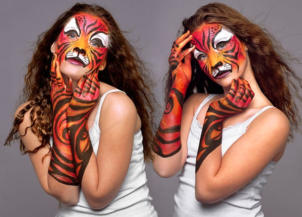 excellent body painting art