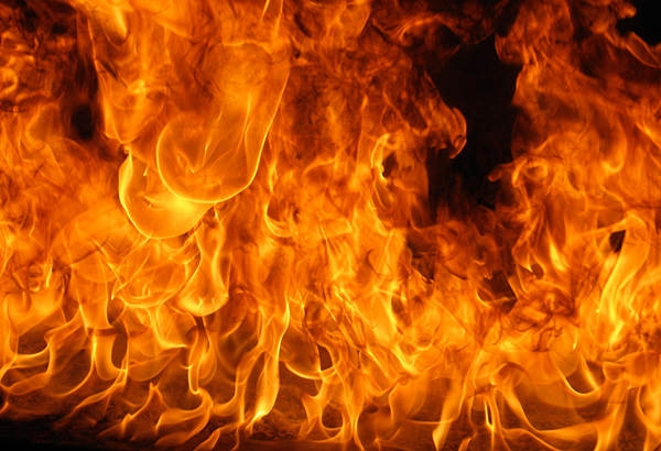 fire explosion texture