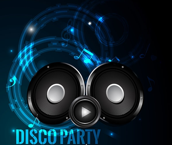 free-vector-disco-party-event