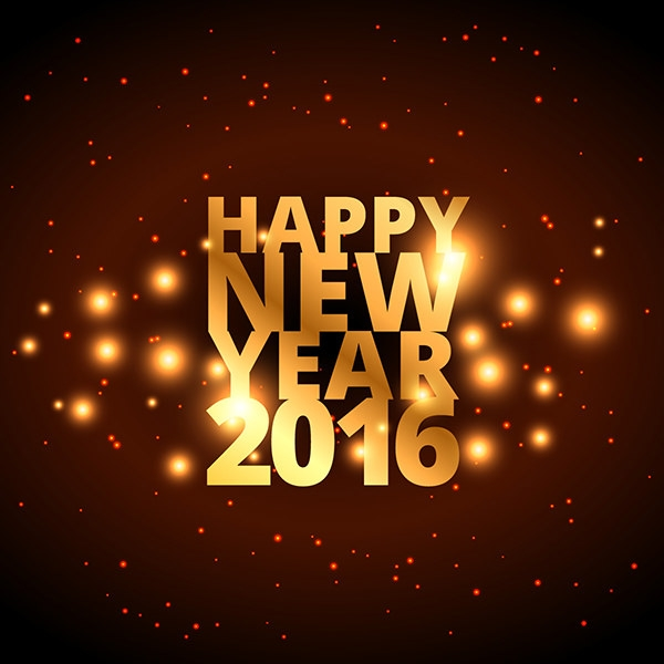 free vector happy new year background