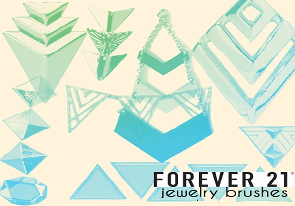 geometric-jewelry-brushes-in-triangle-shape