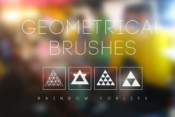geometrical_brushes for photoshop