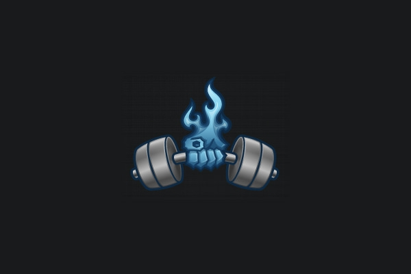 gym-fitness-fire-logo-design