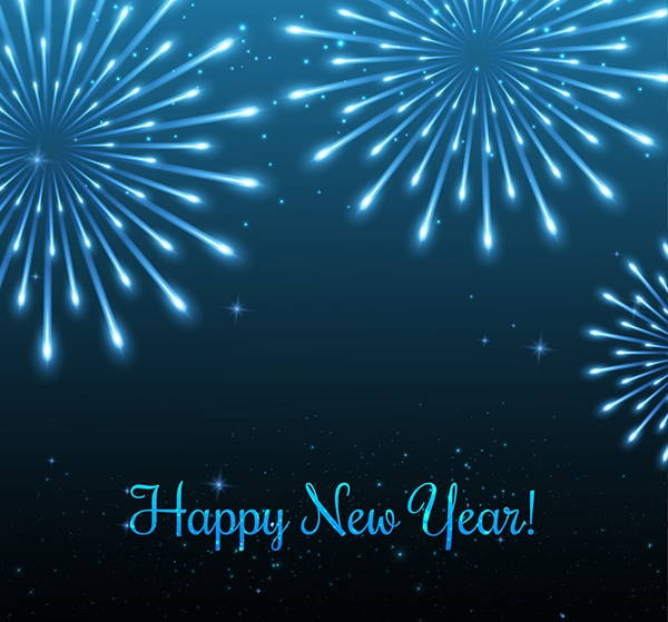 25+ Free Vector New Year Backgrounds | FreeCreatives