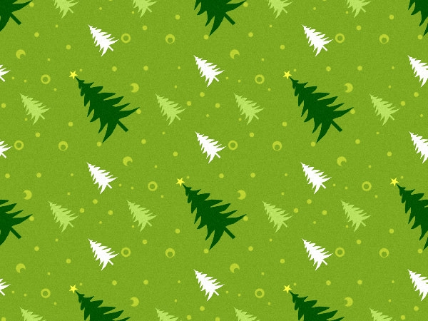 high-res christmas tree pattern