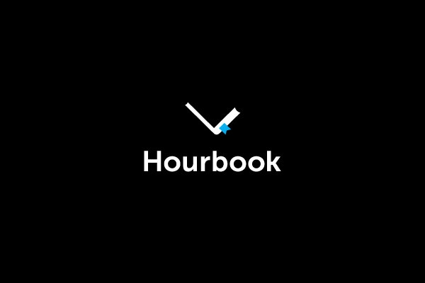 hourbook logo design