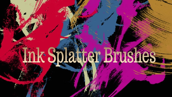 ink-splatter-photoshop-brushes