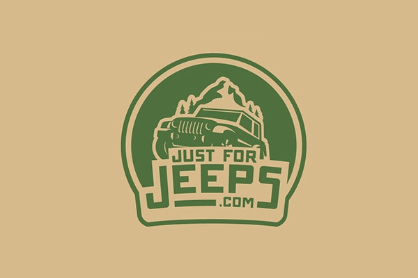 just for jeeps logo design