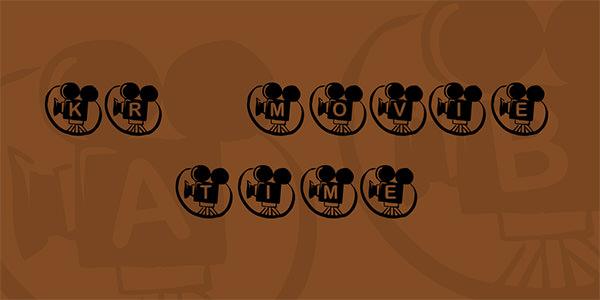 kr-movie-time-font