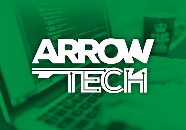 logo-design-arrow-tech