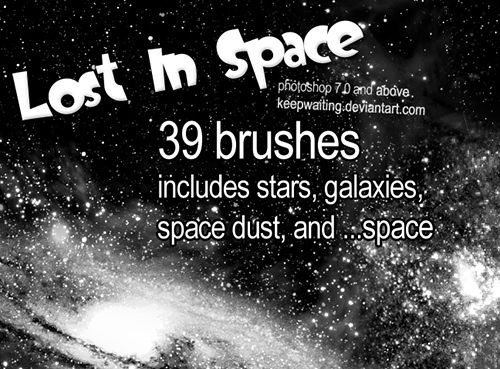 lost_in_space_brushes for photoshop