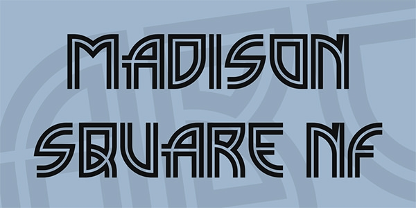 madison-square-nf-font