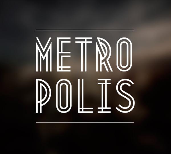 metroplis font
