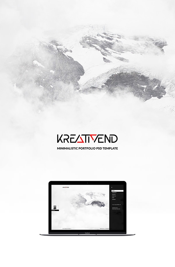 minimalistic-portfoli-psd-design