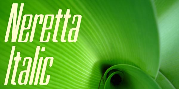neretta italic font