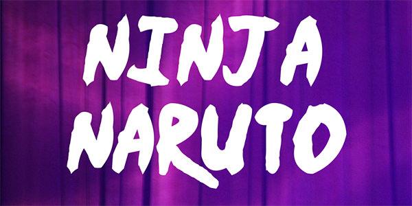 ninja-naruto-font