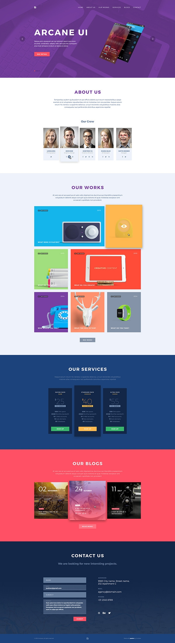 one-page-portflolio-free psd template-design
