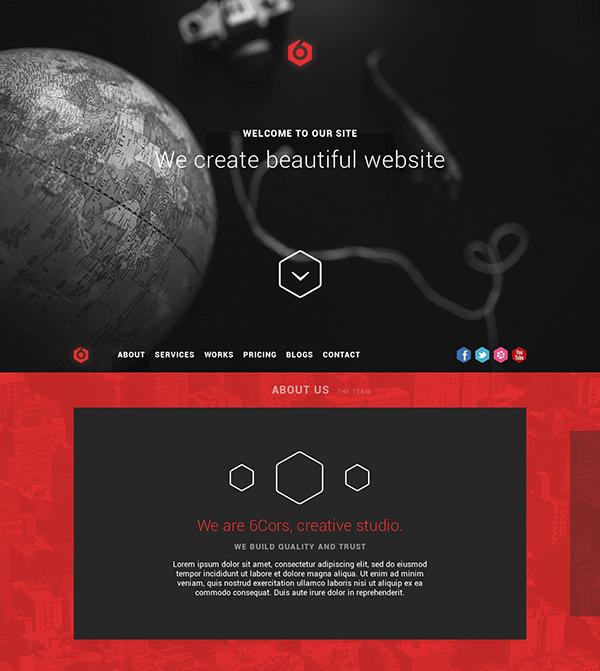one-page-portfolio-free-psd-template