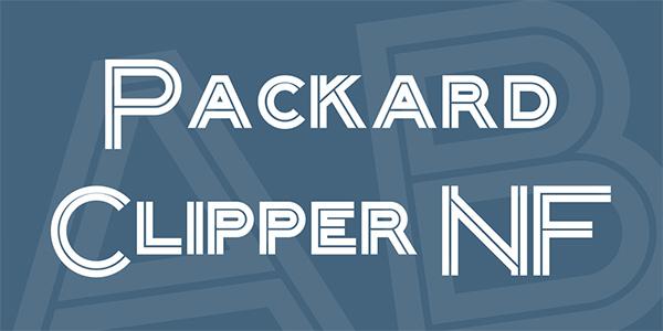 packard-clipper-nf-font