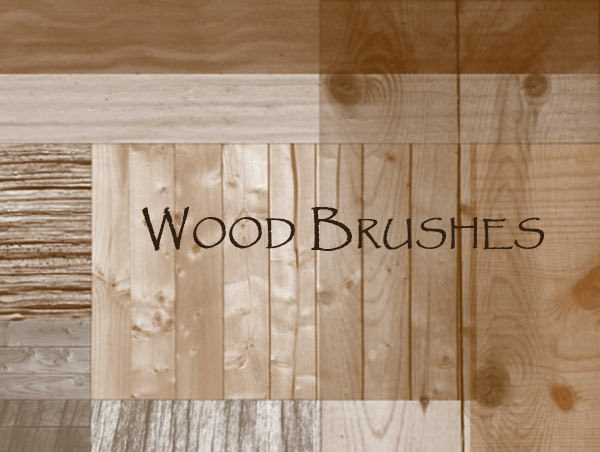 photoshop_wood brushes collection