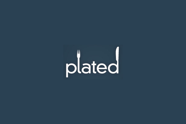 plated logo design
